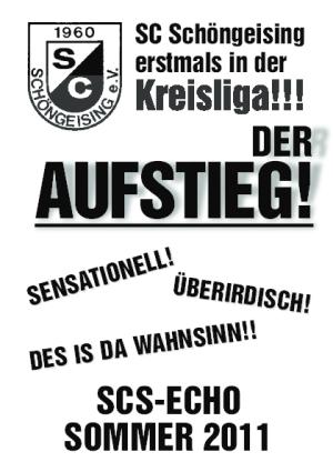 SCS Echo Sommer 2011