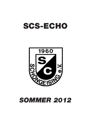 SCS Echo Sommer 2012